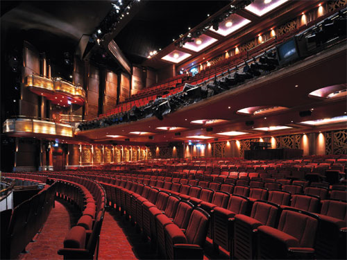 Prince Of Wales Theatre Street View Seating