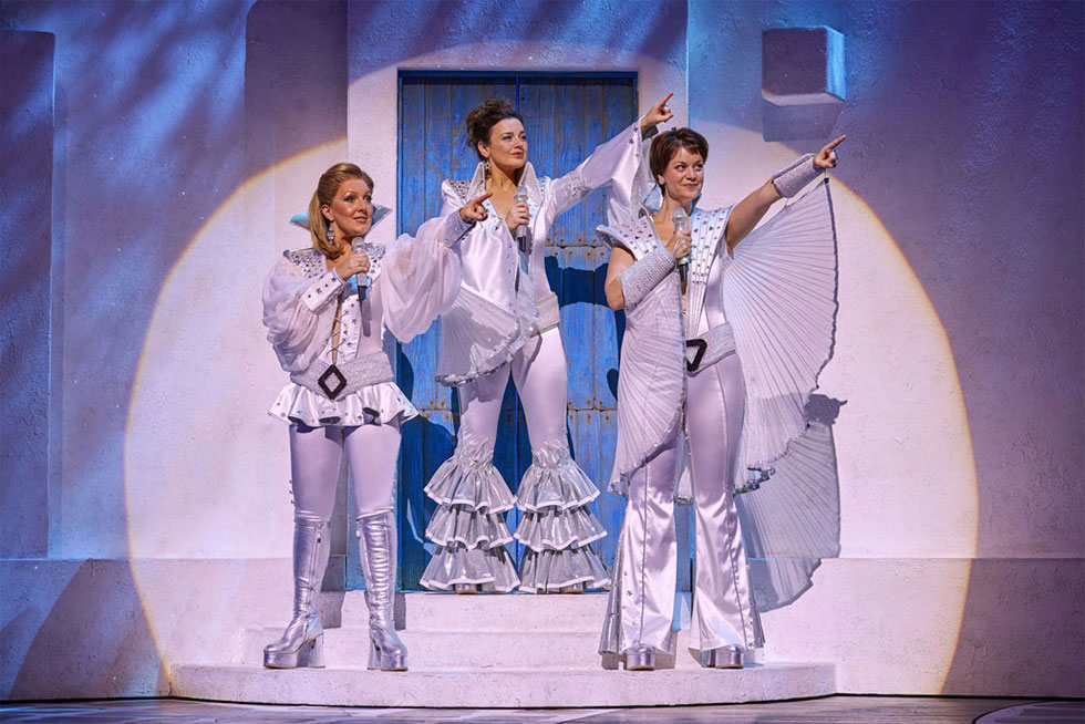mamma mia review An all-singing, all-dancing review (yes, really there are both) as mark and simon take on the movie of the musical by abba, starring abba's songs, meryl stre.