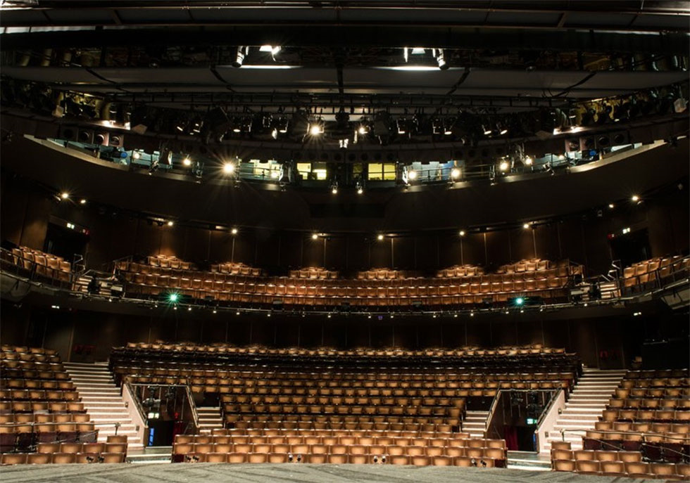 New london theatre seat plan for show boat for Balcony novello theatre