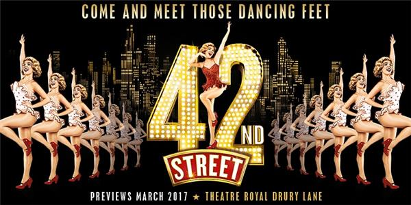 42nd Street - The Big Time Broadway Show arrives in the West End March 2017