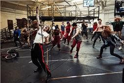 Bat out of Hell - Rehearsal Shots