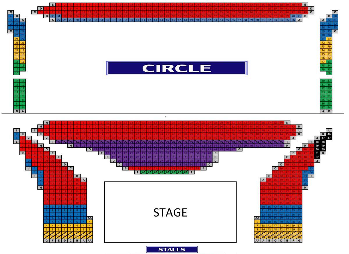 Winter garden theatre seating chart school of rock fasci - Winter garden theater seating chart ...