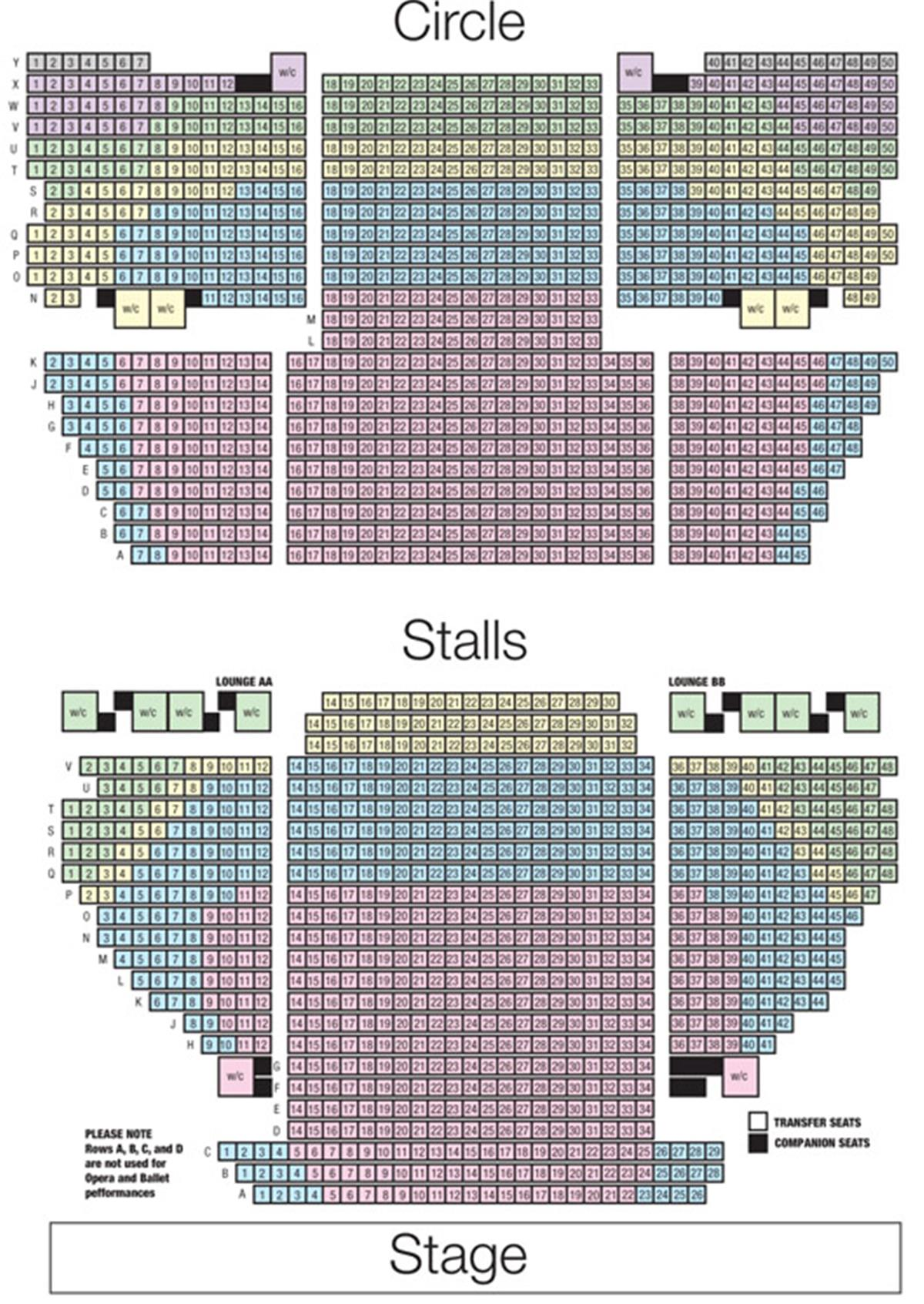 Birmingham Hippodrome Seat Plan