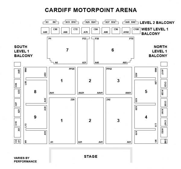 Allstate Arena Floor Plan: Grand West Arena Floor Plan Disney On Ice