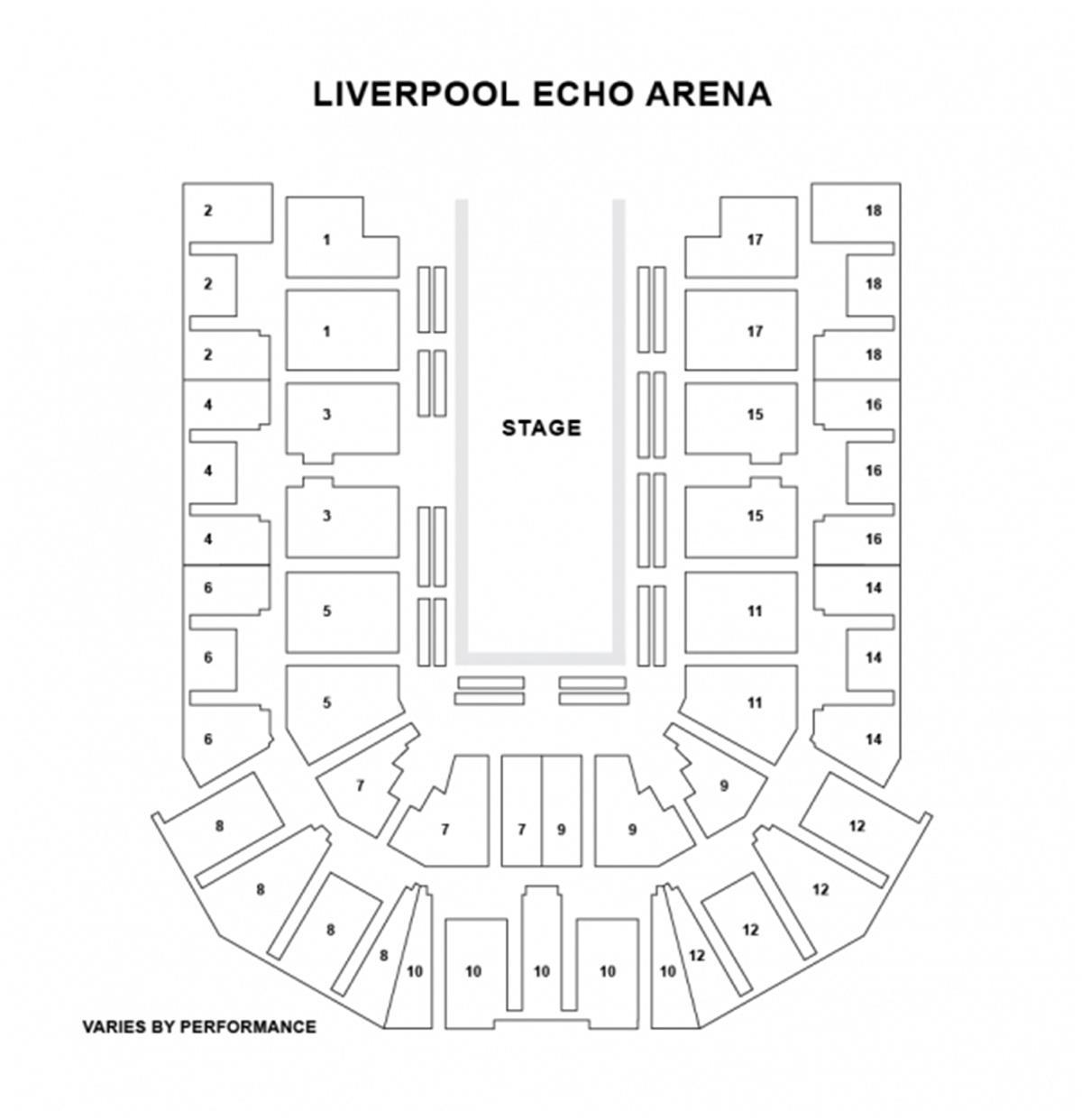 liverpool echo arena floor plan echo home plans ideas picture