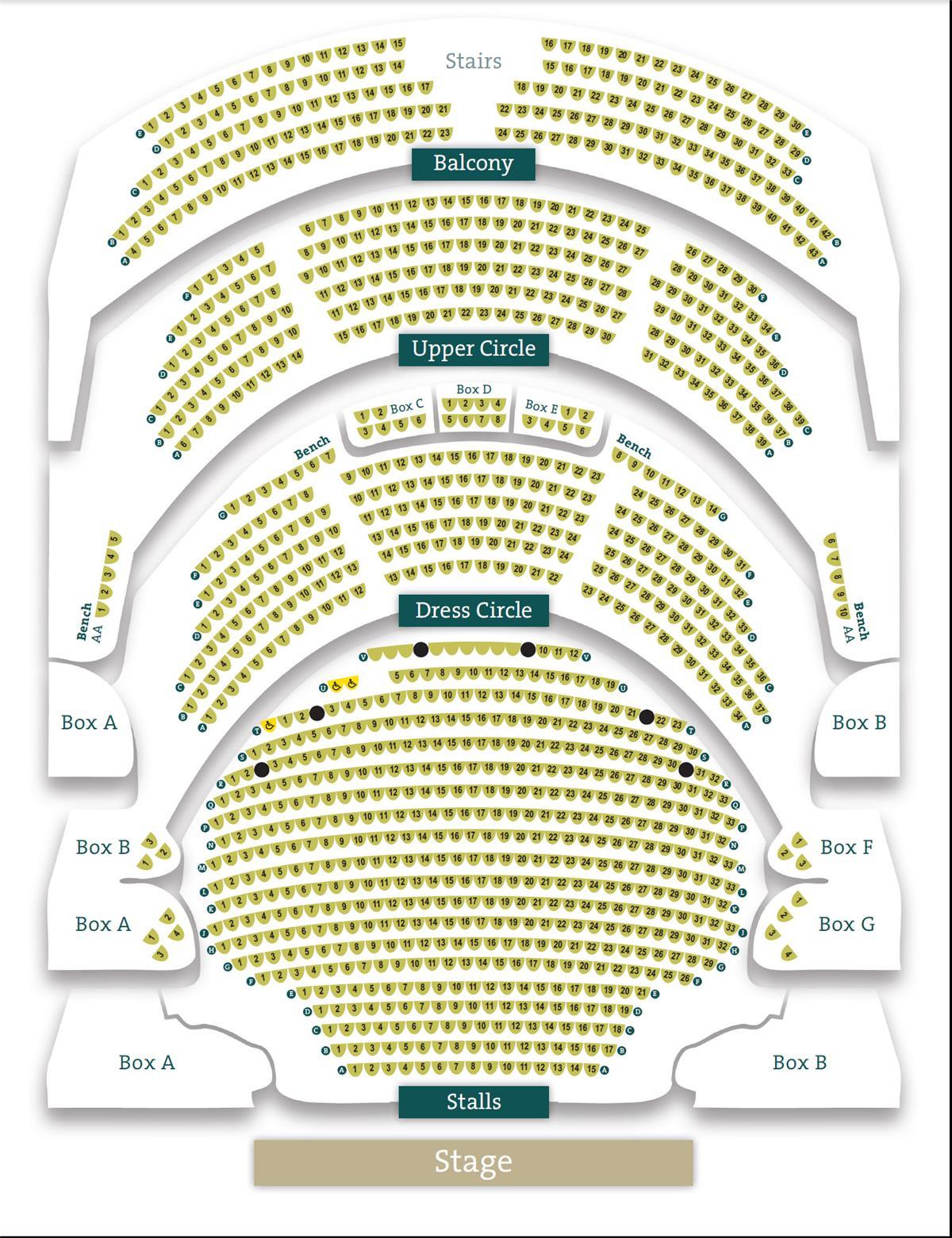 Theatre Royal Nottingham Seat Plan For Shrek The Musical