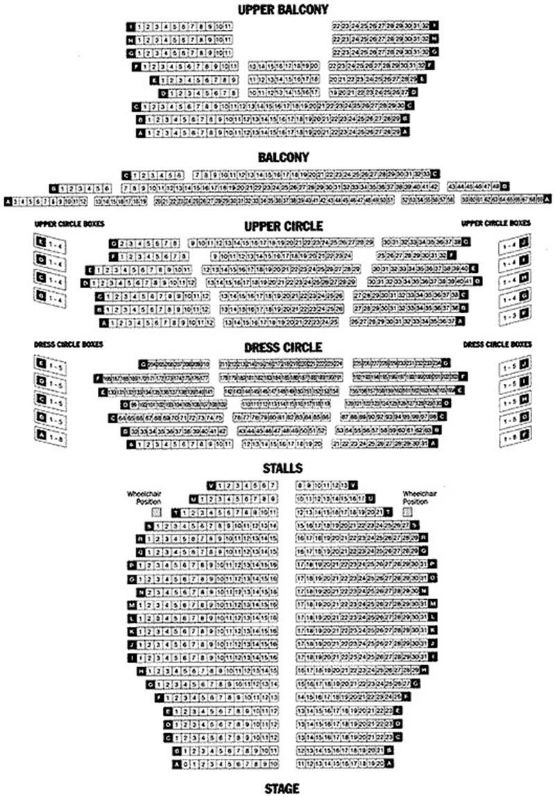 Leeds Grand Theatre 46 Bew Briggate Leeds Ls1 6nz