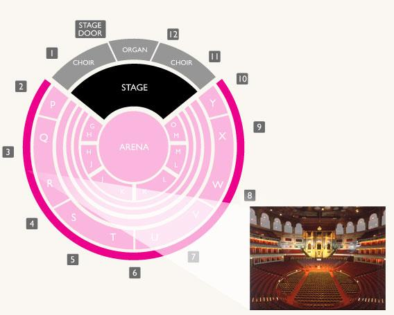 Royal albert hall kensington gore london sw7 2ap for Door 12 royal albert hall