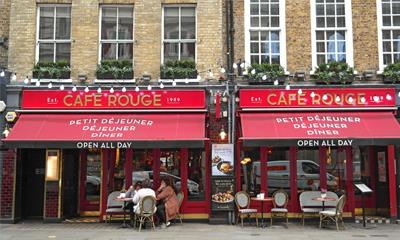 Café Rouge Covent Garden