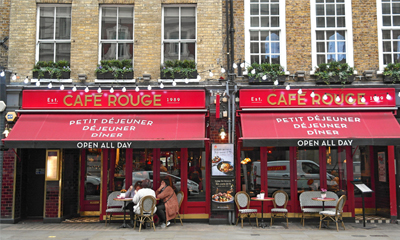 Click to view details and reviews for Café Rouge Covent Garden.