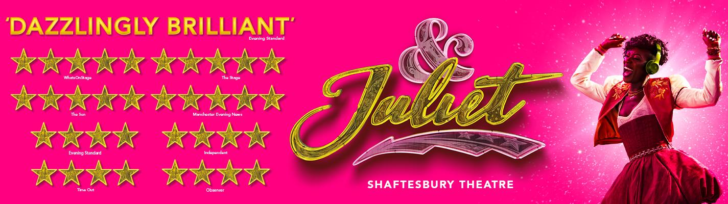 &Juliet - Shaftesbury Theatre