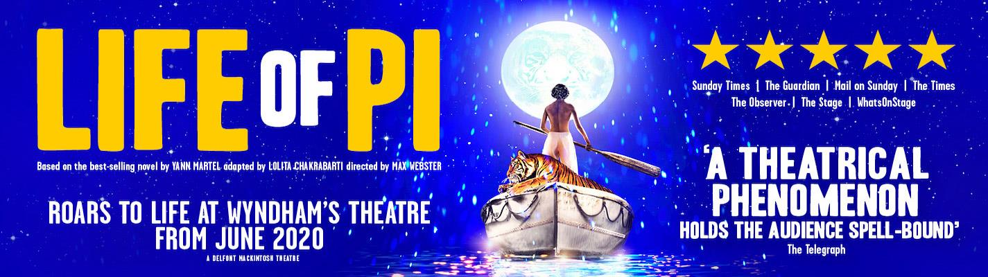 Life of Pi - Wyndhams Theatre
