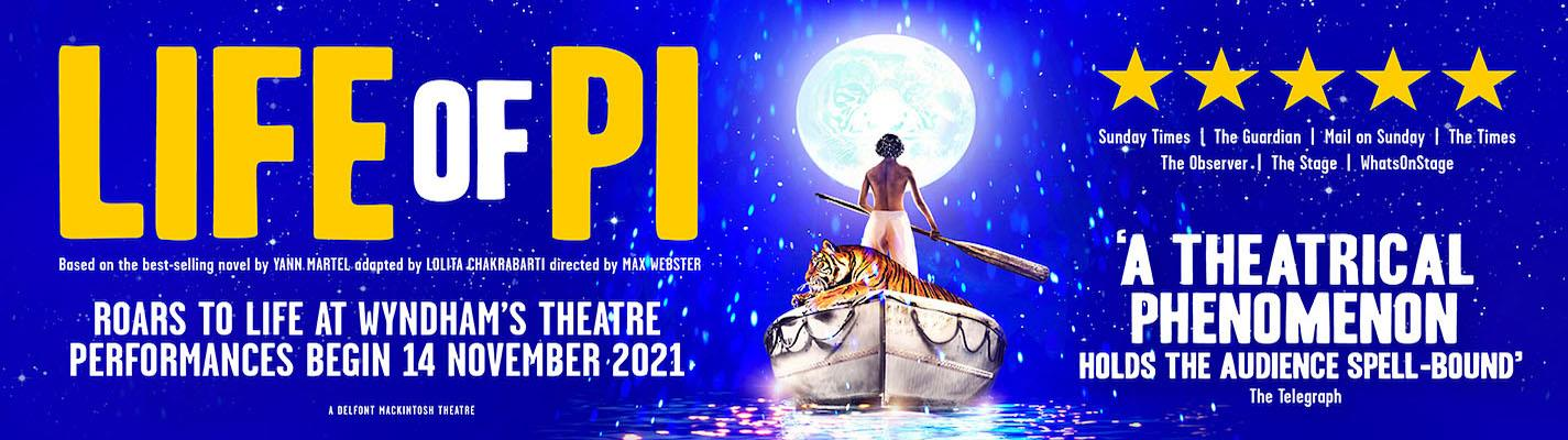 Life of Pi - Wyndhams Theatre