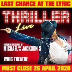 Thriller Live Tickets