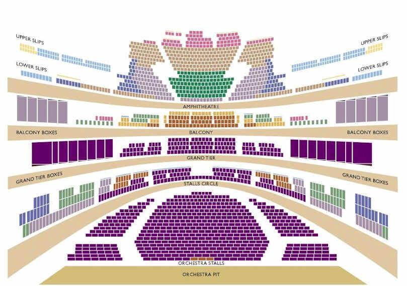 Seating Plan Royal Opera House Images